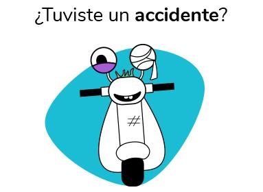 ¿Tuviste un accidente?