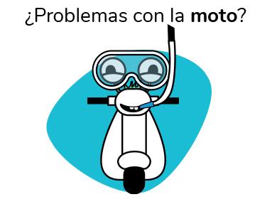 ¿Problemas con la moto?