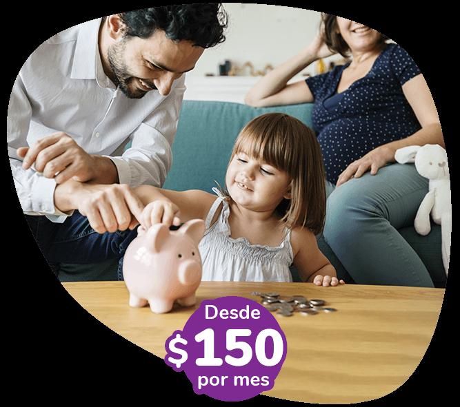 Asegurá tu hogar desde $150 por mes