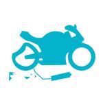 Seguro de moto contra daño total