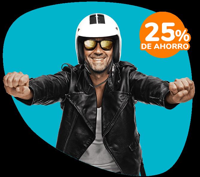 Asegurá tu moto con 25% de Ahorro