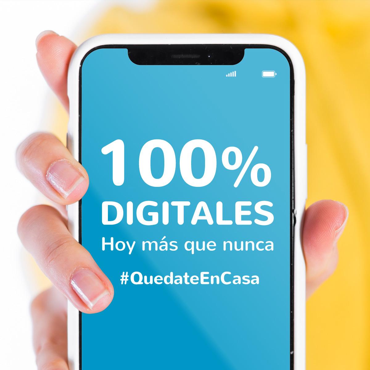 100% digitales