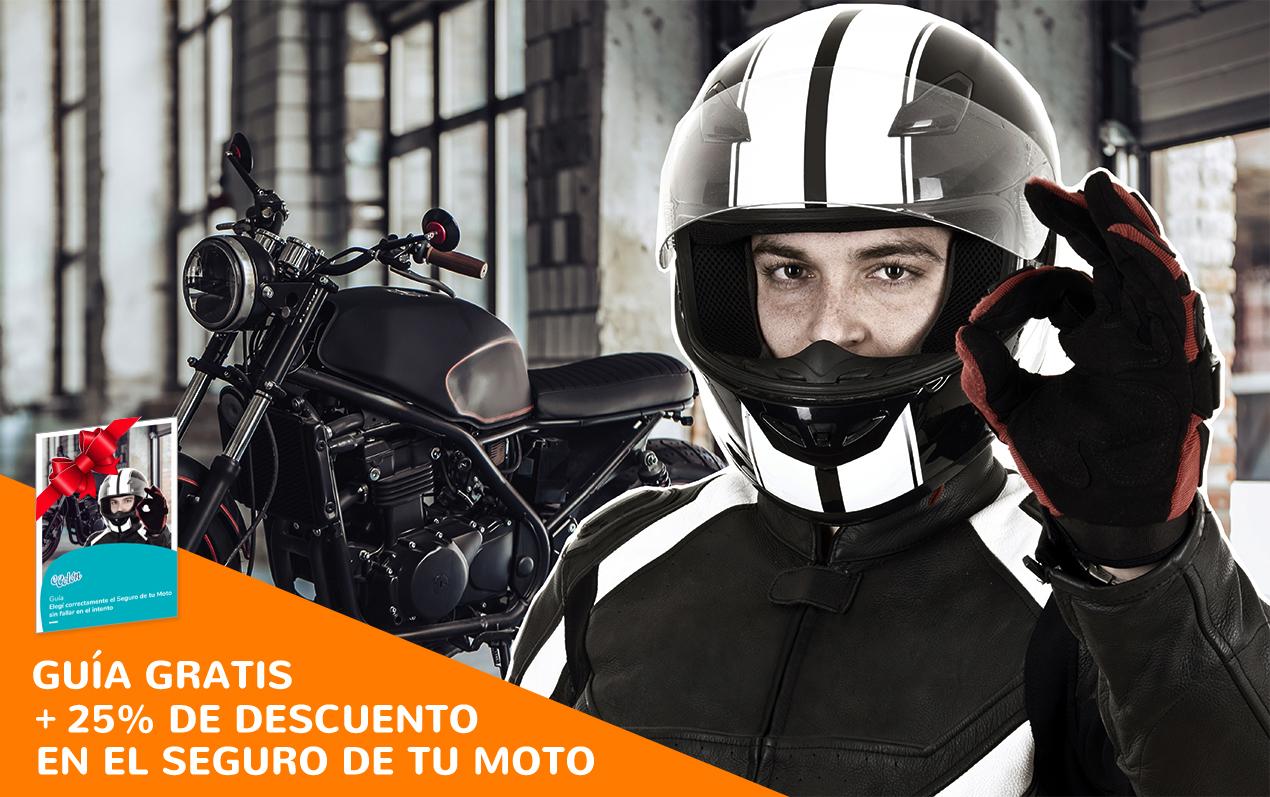 Guía Gratis + 25% de Ahorro en el Seguro para tu Moto